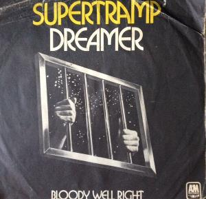 Supertramp Dreamer / Bloody Well Right album cover