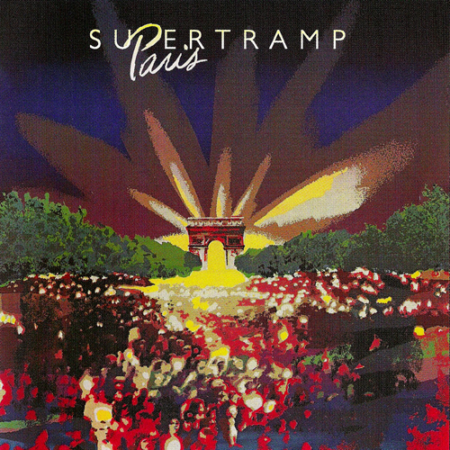 Supertramp - Paris CD (album) cover