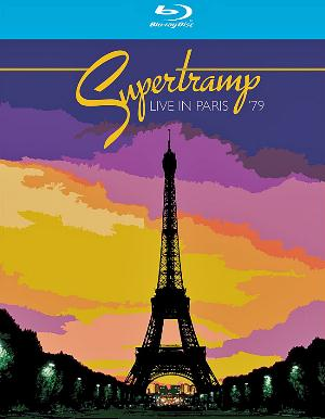 Supertramp Live in Paris 1979 album cover