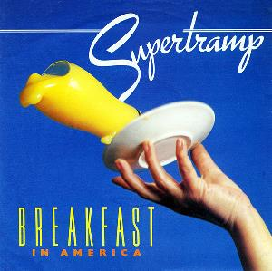 Breakfast in America / Gone Hollywood by SUPERTRAMP album cover