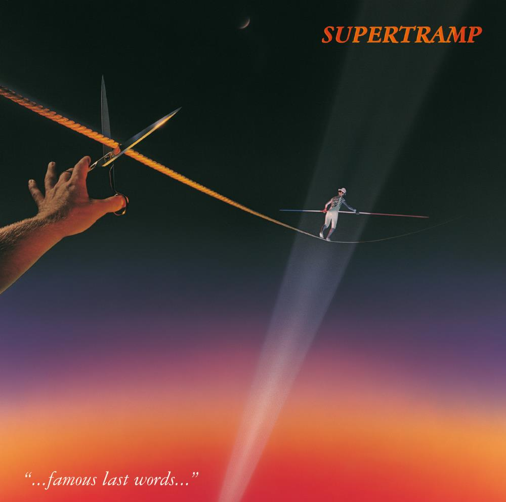 Famous Last Words by SUPERTRAMP album cover