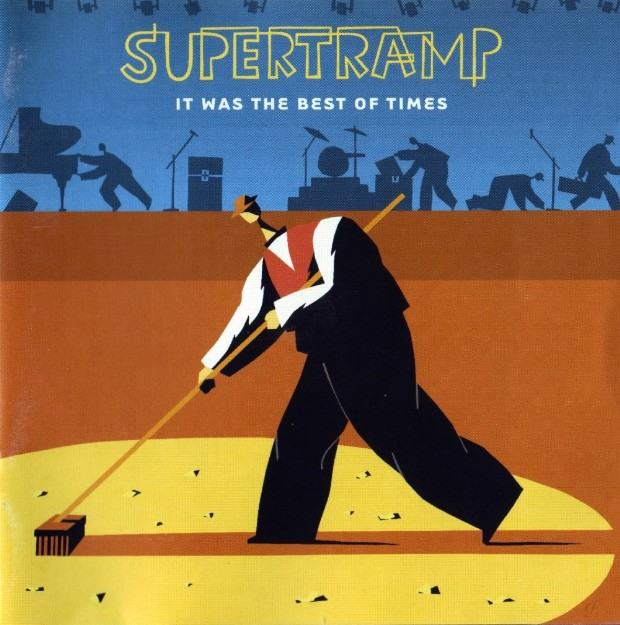 Supertramp - It Was The Best Of Times  CD (album) cover