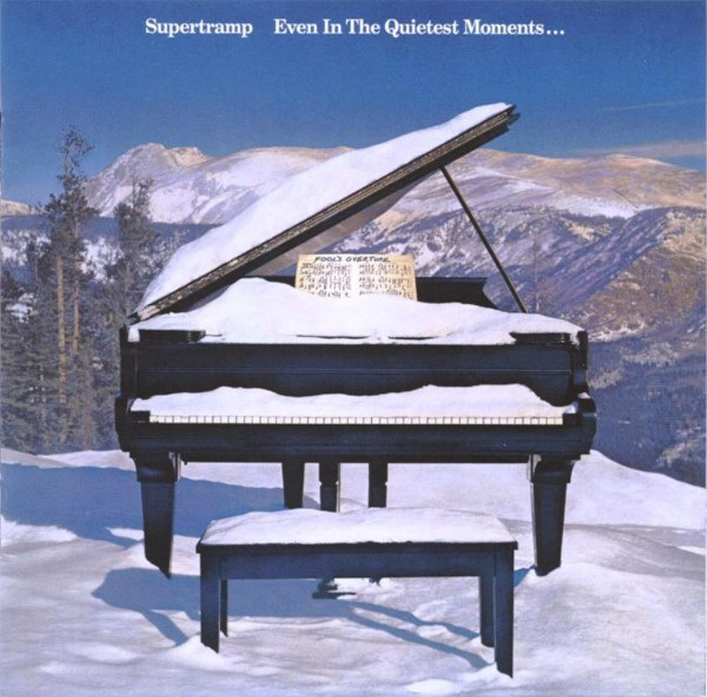 Supertramp - Even in the Quietest Moments.... CD (album) cover