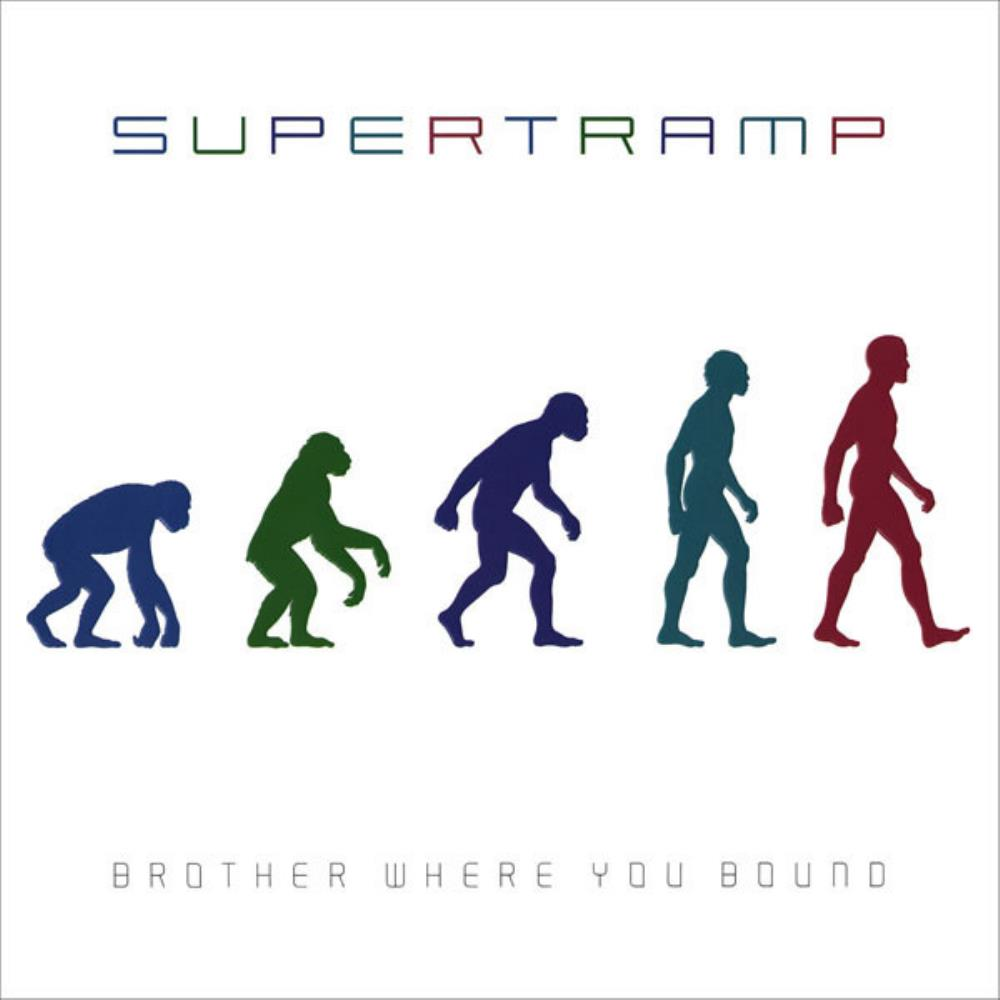 Supertramp - Brother Where You Bound CD (album) cover