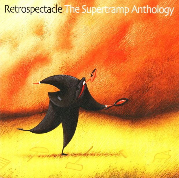 Supertramp - Retrospectable - The Supertramp Anthology CD (album) cover