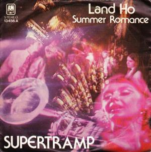 Land Ho / Summer Romance  by SUPERTRAMP album cover
