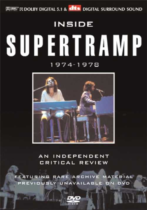 Inside Supertramp 1974-1978 by SUPERTRAMP album cover