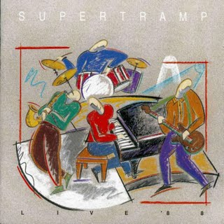 Supertramp - Supertramp Live '88  CD (album) cover