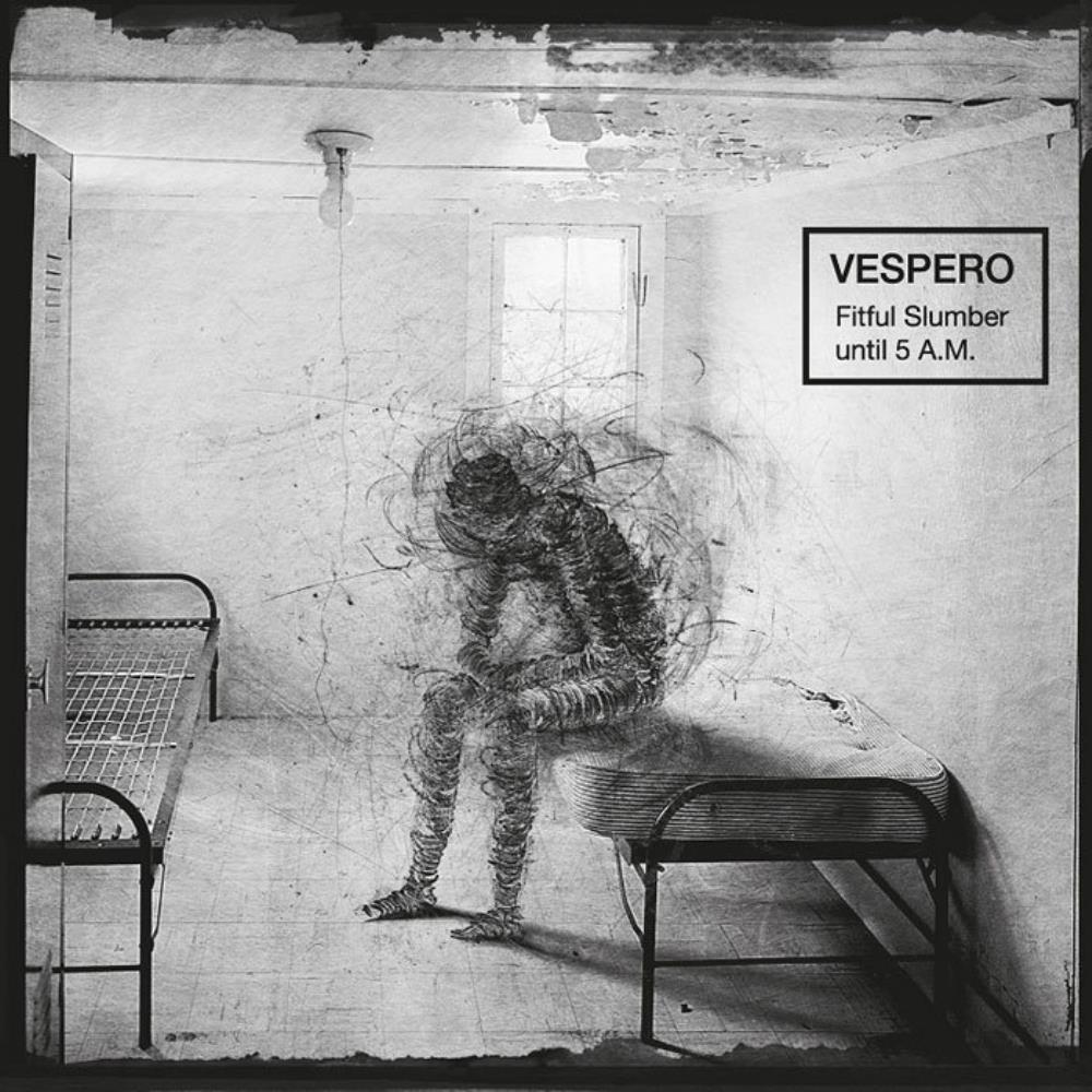 Vespero - Fitful Slumber Until 5 A.M. CD (album) cover
