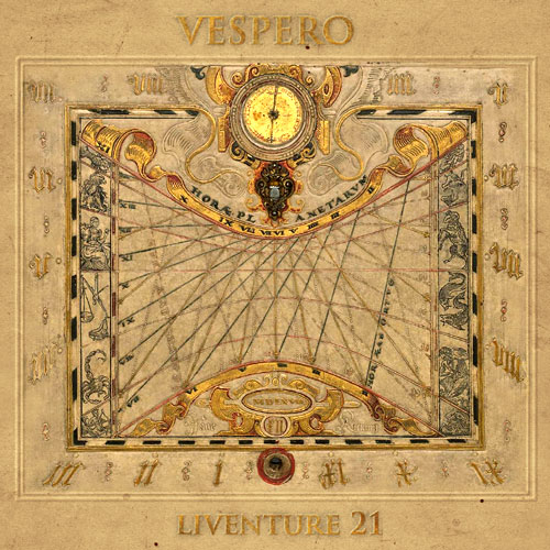 Vespero - Liventure #21 CD (album) cover