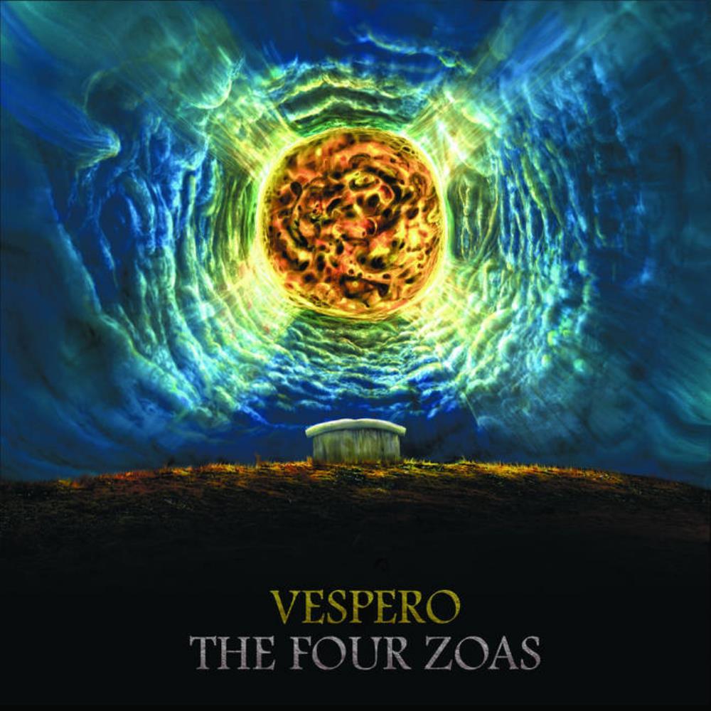 The Four Zoas by VESPERO album cover