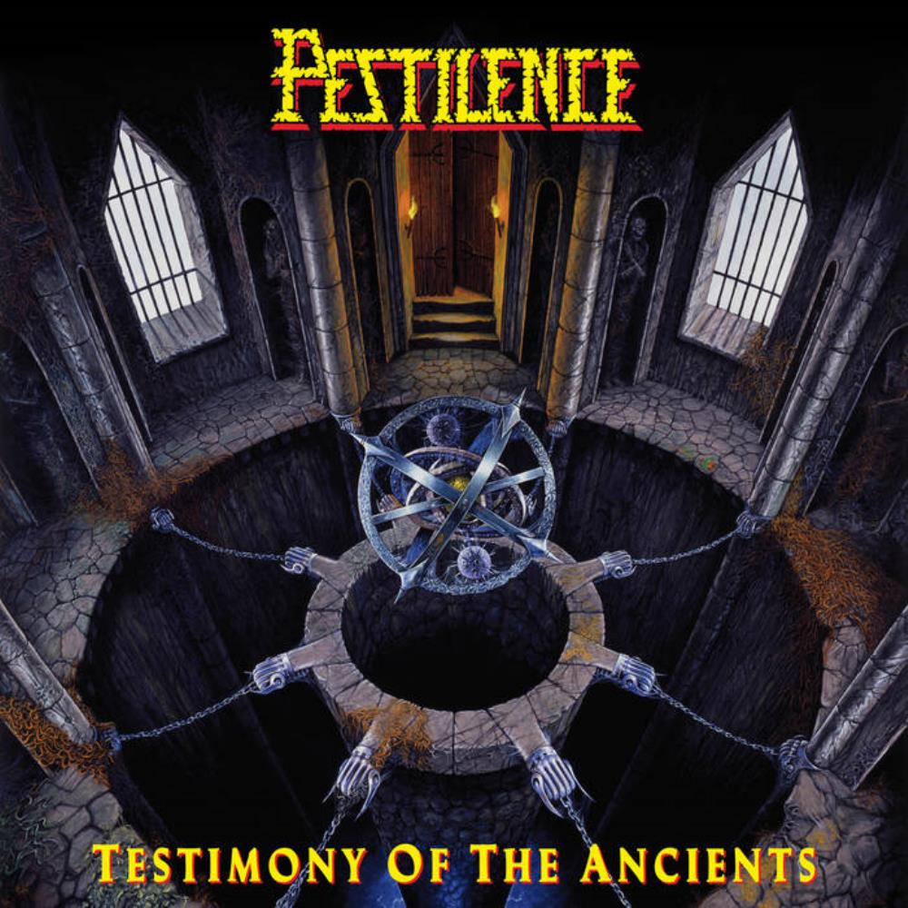 Pestilence Testimony Of The Ancients album cover