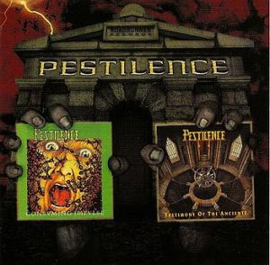 Two from the Vault by PESTILENCE album cover