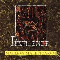 Pestilence Malleus Maleficarum album cover
