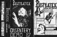 Pestilence Dysentery (Demo) album cover