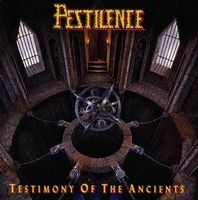 Pestilence - Testimony of the Ancients  CD (album) cover