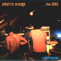 Unterwasser - Live 2002 by ELECTRIC ORANGE album cover