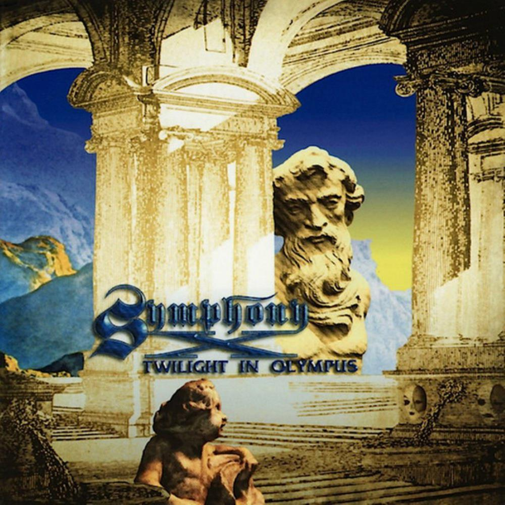Twilight In Olympus by SYMPHONY X album cover