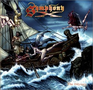 Symphony X - The Odyssey CD (album) cover