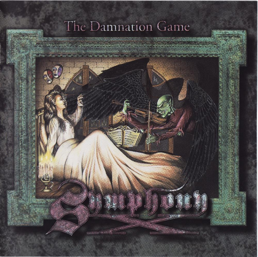 Symphony X - The Damnation Game CD (album) cover
