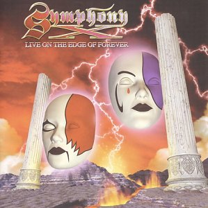 Symphony X - Live on the Edge of Forever  CD (album) cover