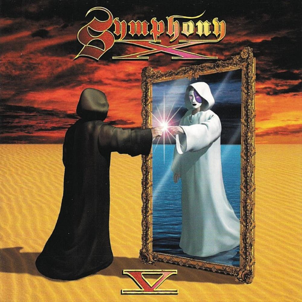 V - The New Mythology Suite by SYMPHONY X album cover