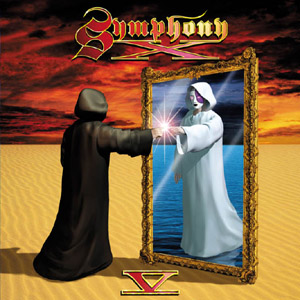 Symphony X - V: The New Mythology Suite CD (album) cover