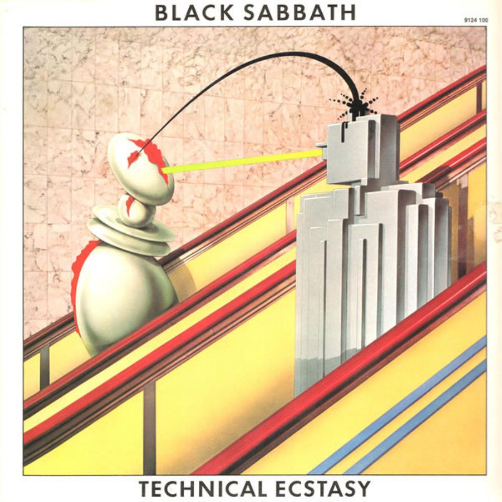 Black Sabbath - Technical Ecstasy CD (album) cover