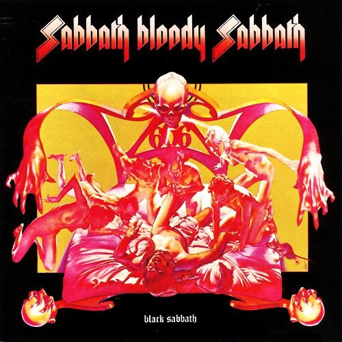 Black Sabbath Sabbath Bloody Sabbath album cover