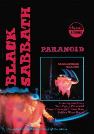 Black Sabbath Classic Albums: Paranoid album cover