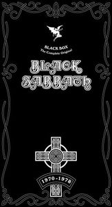 Black Sabbath Black Box (The Complete Original Black Sabbath 1970-1978)  album cover