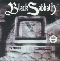 Black Sabbath TV Crimes album cover