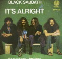 Black Sabbath It's Alright album cover