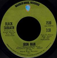 Black Sabbath - Iron Man CD (album) cover