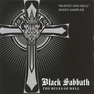 Black Sabbath Heaven and Hell (Radio Sampler) album cover