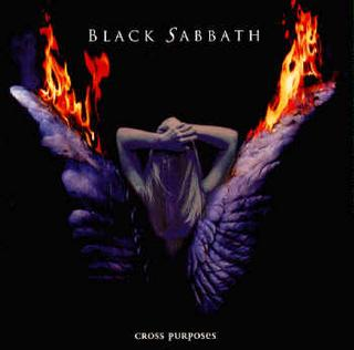 Black Sabbath - Cross Purposes CD (album) cover