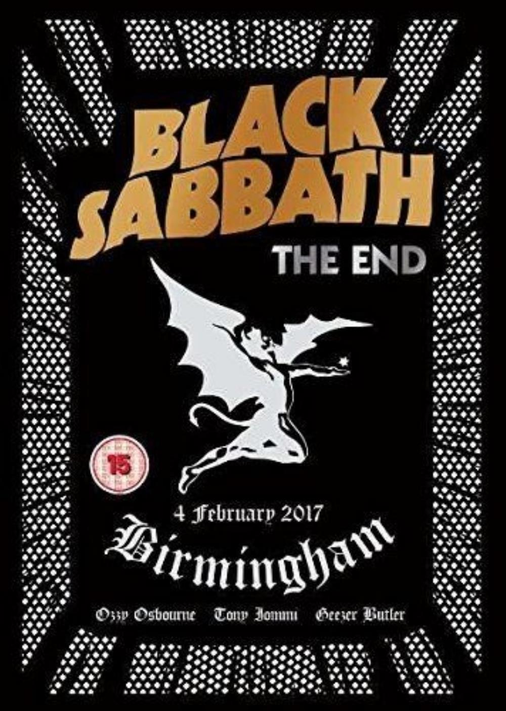 Black Sabbath The End - 4 February 2017, Birmingham album cover