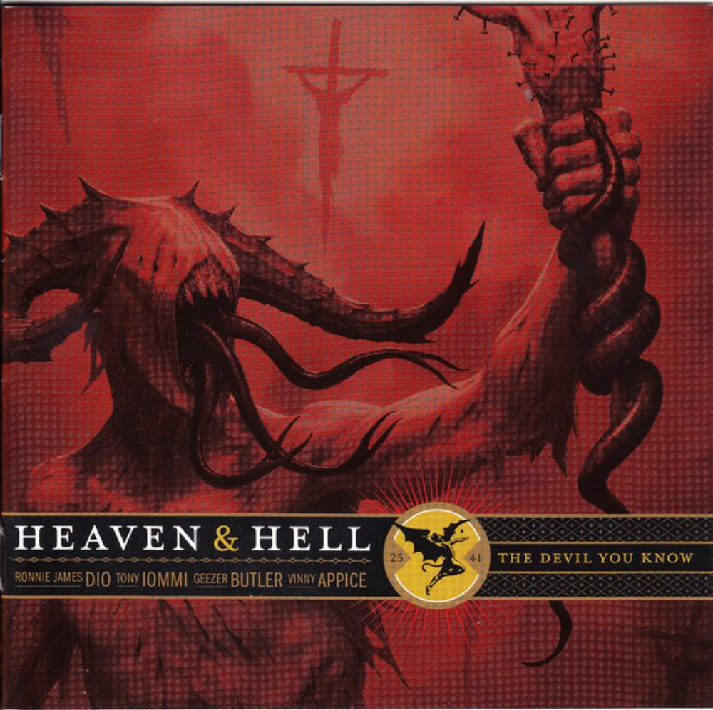 Black Sabbath - Heaven & Hell - The Devil You Know CD (album) cover
