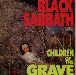 Black Sabbath Children of the Grave  album cover
