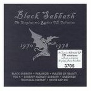 Black Sabbath The Complete 70's Replica CD Collection 1970-1978 (boxset) album cover