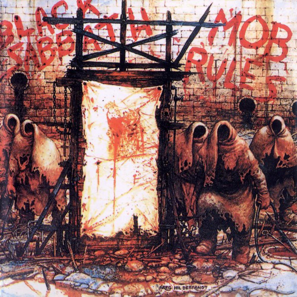 Mob Rules by BLACK SABBATH album cover