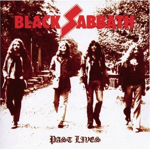 Black Sabbath - Past Lives CD (album) cover