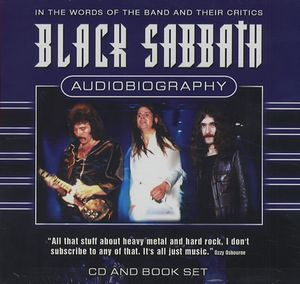 Black Sabbath Audiobiography album cover