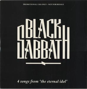 Black Sabbath 4 Songs From The Eternal Idol album cover