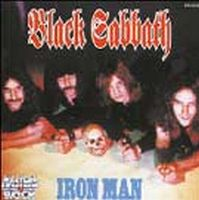 Black Sabbath Iron Man album cover