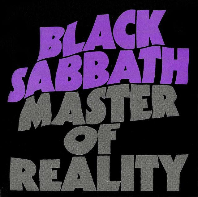 Master Of Reality by BLACK SABBATH album cover
