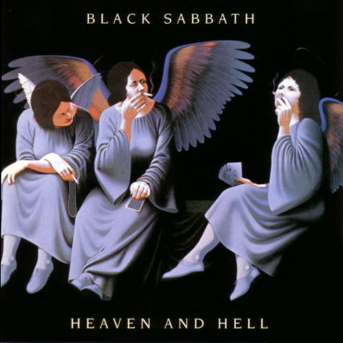 Heaven And Hell by BLACK SABBATH album cover