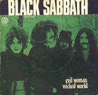 Black Sabbath Evil Woman album cover