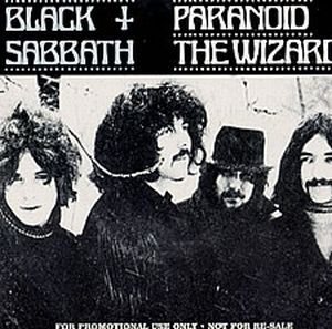 Black Sabbath Paranoid album cover