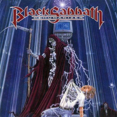 Black Sabbath Dehumanizer album cover